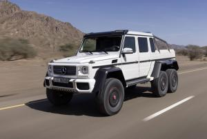The Mercedes-Benz G 63 AMG 6x6