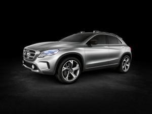 The new Mercedes-Benz Concept GLA