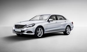 The new Mercedes E-Class long-wheelbase version