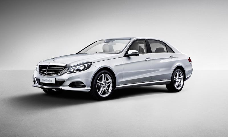 The new Mercedes E-Class long-wheelbase version
