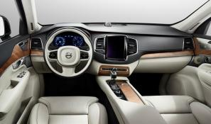 2015 Volvo XC90 interior revealed