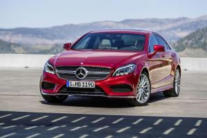 New Mercedes CLS on sale July