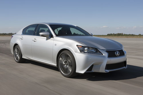 New Lexus GS available to order now, priced from £32,995