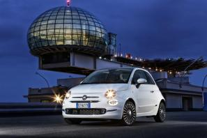 Fiat 500 receives mild facelift