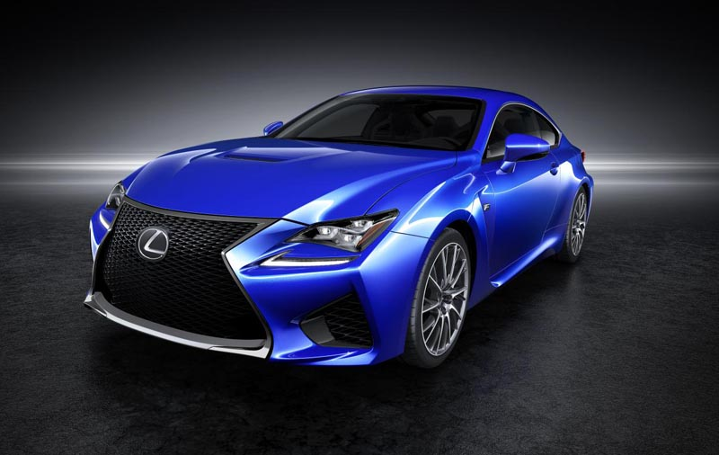 Lexus RC F available to order now priced from £59,995