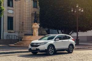 Honda CR-V Hybrid on sale February priced from £29,105