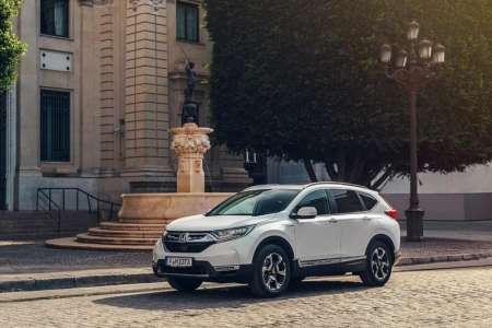 Honda CR-V Hybrid on sale February priced from £29,105