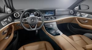 2017 Mercedes E-Class interior revealed
