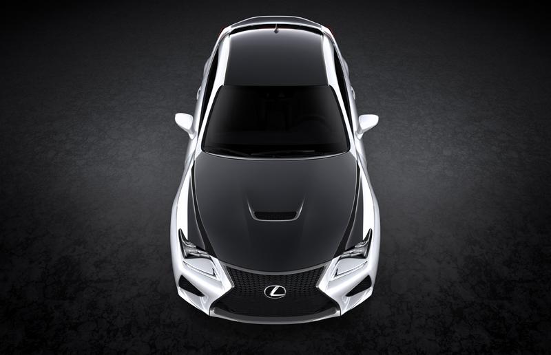 Lexus RC F Carbon-fibre package