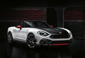 Abarth 124 Spider revealed, priced from £29,565