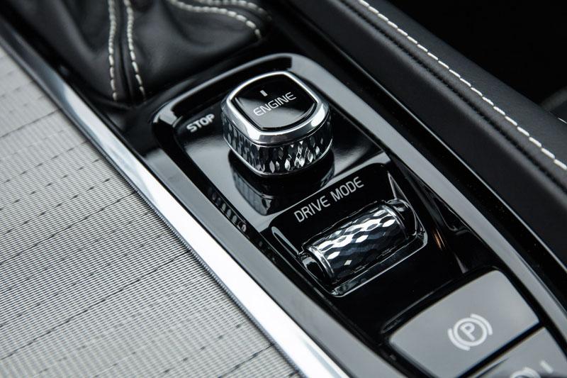 Volvo XC90 start switch