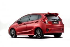 New Honda Jazz prototype