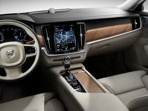 2017 Volvo S90, V90 interior