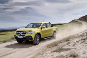 Mercedes X-Class pickup revealed in production form