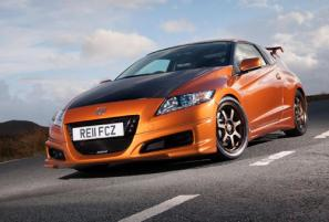 First images of Honda CR-Z Mugen