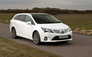 Toyota Avensis range revised for 2013