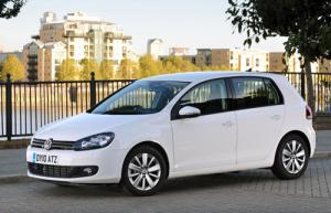 VW Golf Match with £1,600 worth of extra equipment
