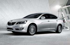 First image of new Kia Cadenza saloon released