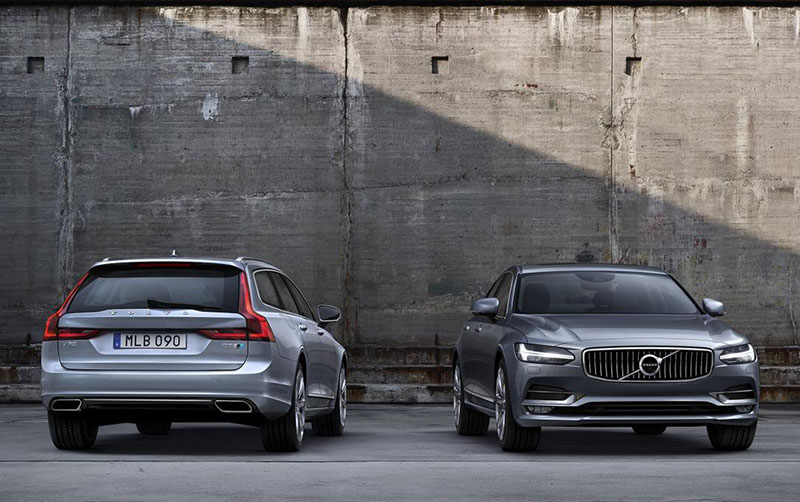 Volvo S90 and V90 Polestar Performance Packages