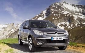 Citroen C-Crosser gets new 170hp 2.4-litre petrol engine plus CVT
