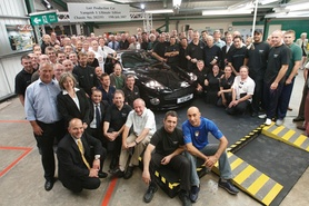 50 years of Aston Martin production at Newport Pagnell ends