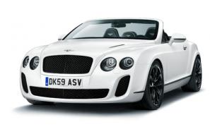The new Bentley Continental Supersports Convertible