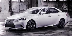 2013 Lexus IS - first official pictures released
