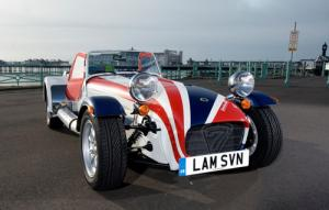 Lambretta Clothing gives Caterham Seven a visual overhaul