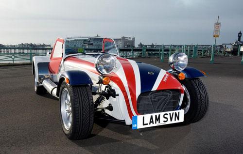Lambretta Clothing gives Caterham Seven a visual overhaul