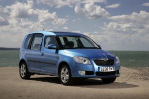 Skoda Roomster now with free Family Pack