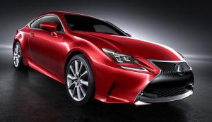 Lexus RC Coupe unveiled at Tokyo Motor Show