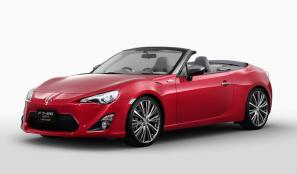 Toyota FT-86 Open Concept revised for Tokyo Motor Show
