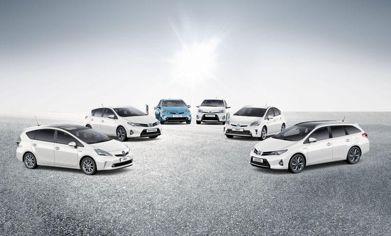 Toyota celebrates selling over 5 million hybrids