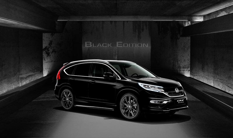honda civic limited edition cr v black edition news testdriven. Black Bedroom Furniture Sets. Home Design Ideas