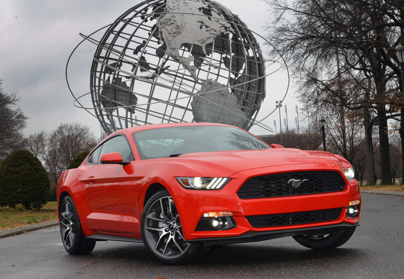 2015 Ford Mustang UK prices
