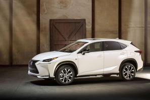 Lexus NX revealed in production form