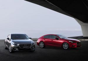 Revised 2017 Mazda3 on sale from 1st October