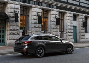 2017 Mazda6 Tourer in Machine Grey