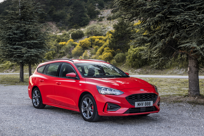 2019 Ford Focus Estate St Line Uk Review Testdriven