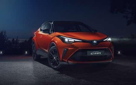 Toyota C-HR gains smartphone integration, 182bhp hybrid option
