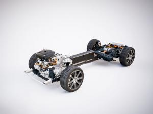 Volvo XC60 - T8 powertrain