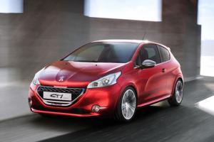 Peugeot 208 GTi revealed in concept form