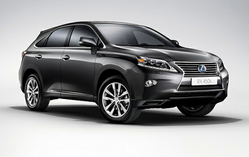 Lexus RX 450h receives minor facelift and new F Sport trim level
