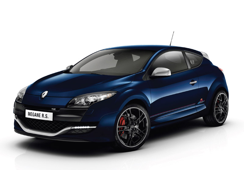 Limited edition Megane Renaultsport Red Bull Racing RB8