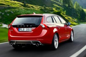 The new Volvo S60 and V60 R-Design models