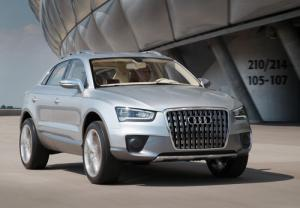 Audi Q3 SUV to launch in 2011