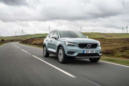 Volvo XC40 receives powertrain and equipment upgrades