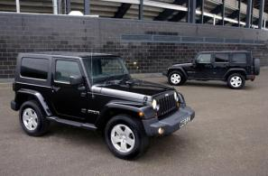 New Jeep Wrangler Ultimate special edition
