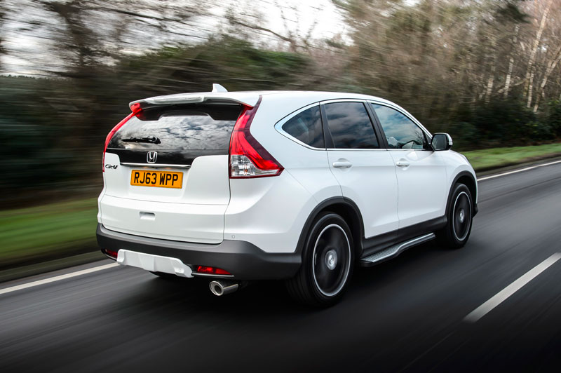 2015 Honda Cr V White Edition Review Testdriven