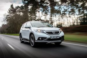 2015 Honda CR-V White Edition Review